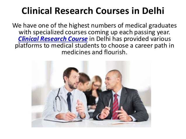 BSc Clinical Research and Healthcare In Management Bangalore