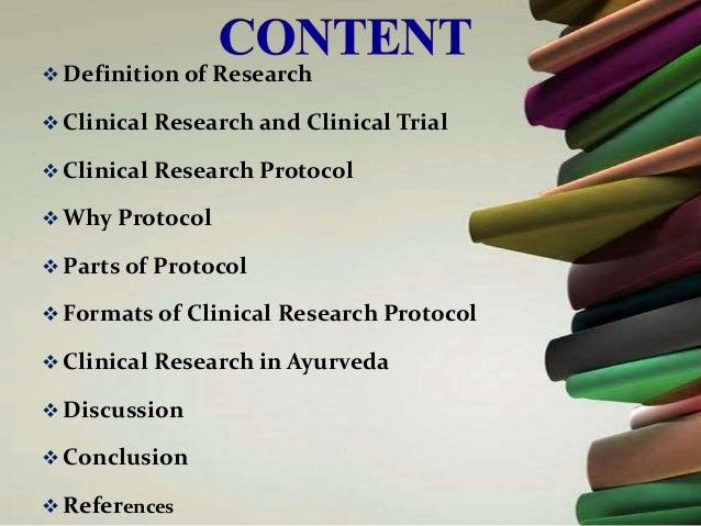 CLINICAL RESEARCH DEFINITION EPUB