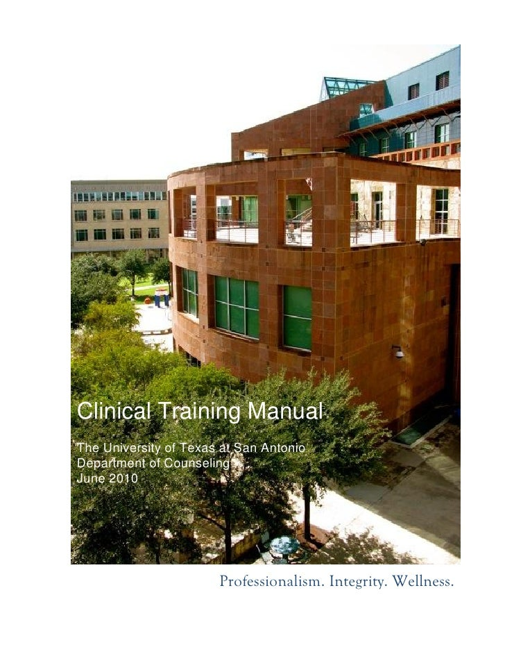 Clinical Training Manual