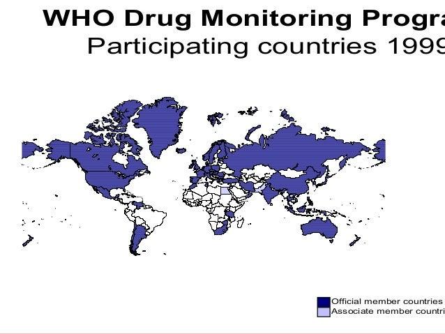 Friday, January 30, 2015 icri,dehradun 14 Official member countries Associate member countri WHO Drug Monitoring Progra Pa...