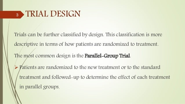 Factorial Design And Planned Crossover Designs