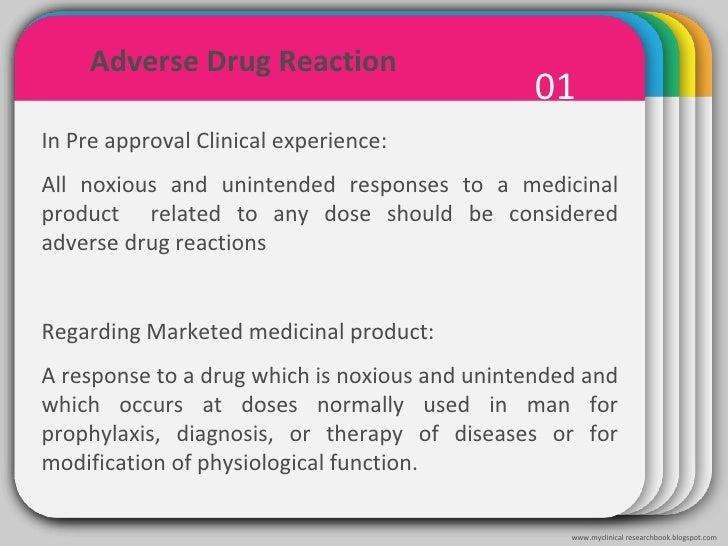 Clinical trials: Terminology Slide 2