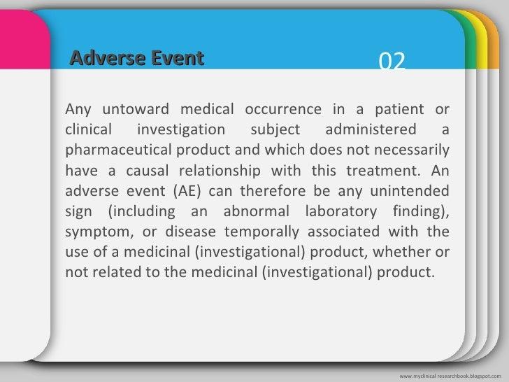 Clinical trials: Terminology Slide 3