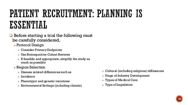 Clinical Trial Recruitment Retention