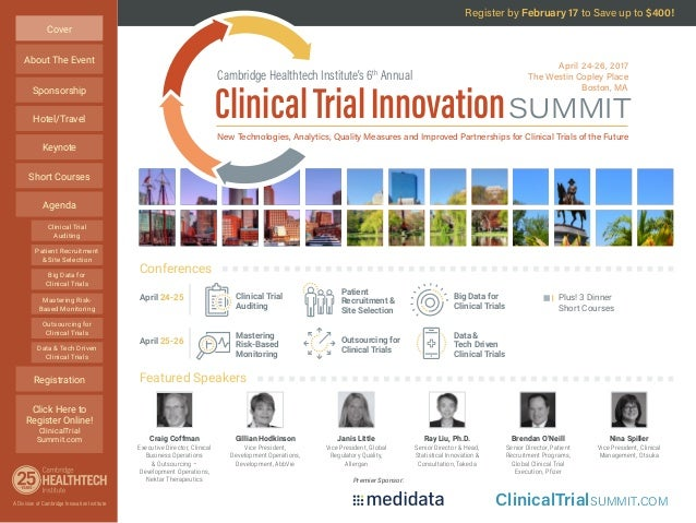 CHI's Clinical Trial Innovation Summit 2017