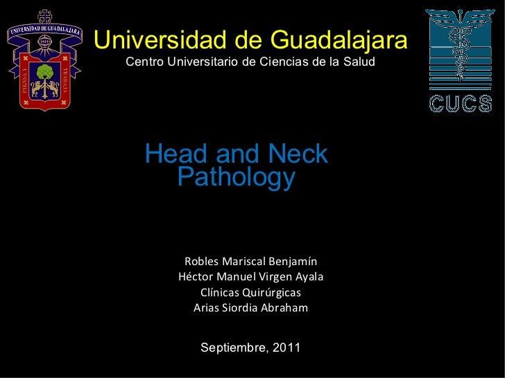Universidad de Guadalajara Robles Mariscal Benjamín Héctor Manuel Virgen Ayala Clínicas Quirúrgicas Arias Siordia Abraham ...