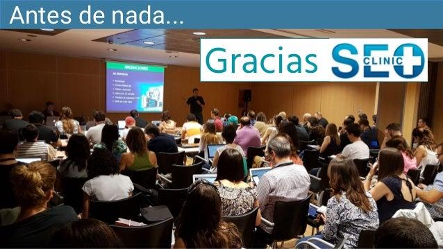 Clinic SEO CW19 - Trampas SEO en WordPress Slide 2