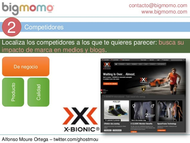 contacto@bigmomo.com www.bigmomo.com Alfonso Moure Ortega – twitter.com/ghostmou Competidores 2 Localiza los competidores ...