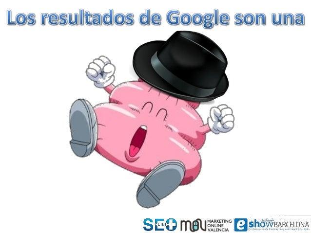ClinicSEO eShow BCN 2103 Miguel López Slide 3