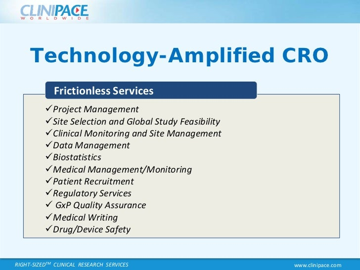 Clinipace worldwide-webcast-new-cro-pricing-model-value ...
