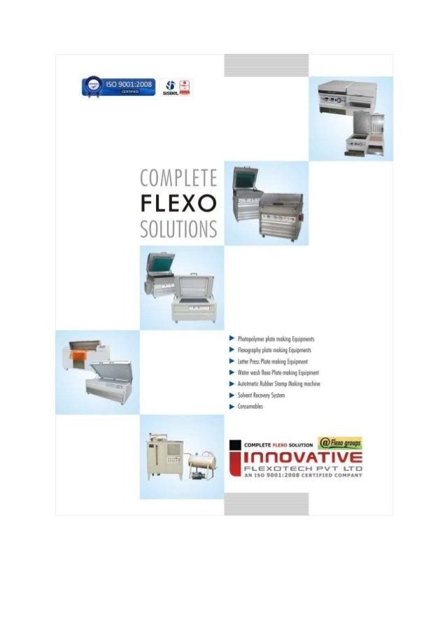 Innovative Flexotech Private Limited, Gujarat, Printing Equipment