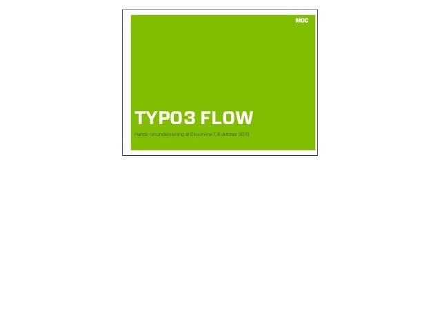 TYPO3 FLOW Hands-on undervisning af Clio online 7,8 oktober 2013