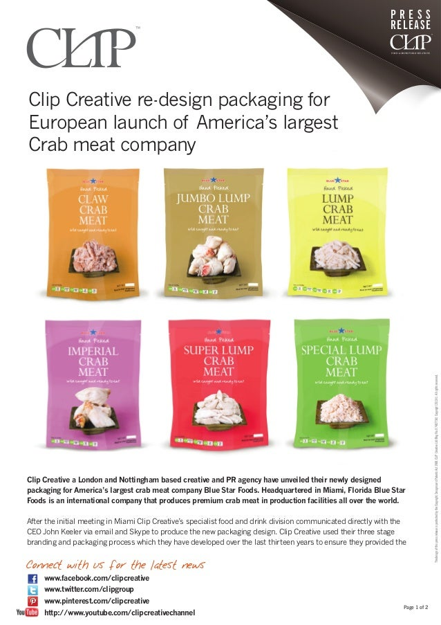 Clip creative re design packaging for european launch of for Creative home designs of america