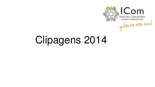 Clipagens 2014