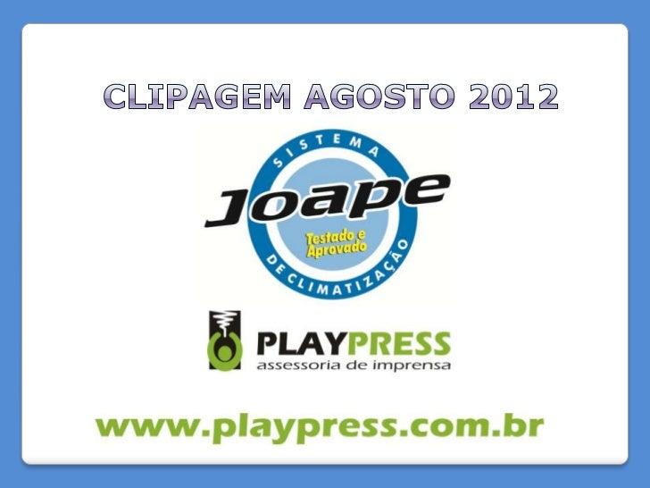 NOME DO VEÍCULO: Rádio Bandeirantes AM 640PROGRAMA: Ciranda da CidadeDATA: 02/08/2012ABRANGÊNCIA/TIRAGEM: Regional