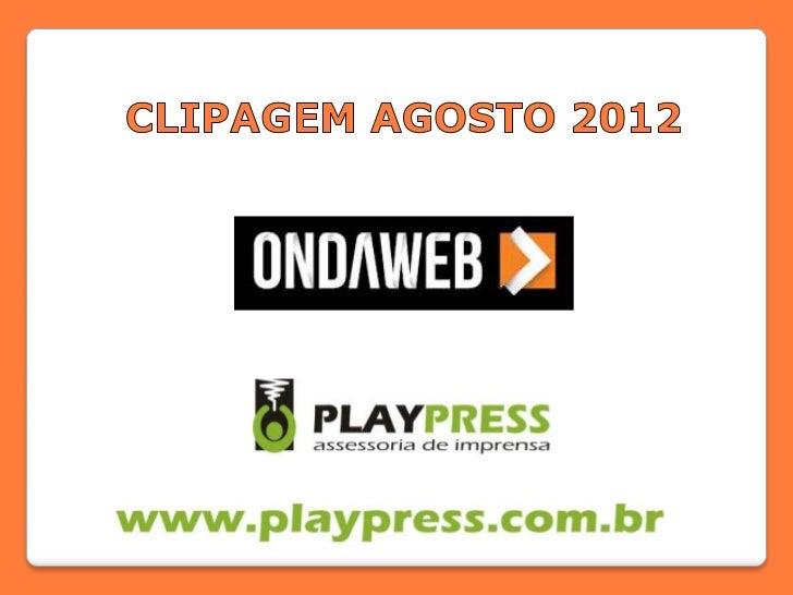 NOME DO VEÍCULO: Revista VotoEDITORIA: NotíciasDATA: 12/08/2012ABRANGÊNCIA/TIRAGEM: Regional