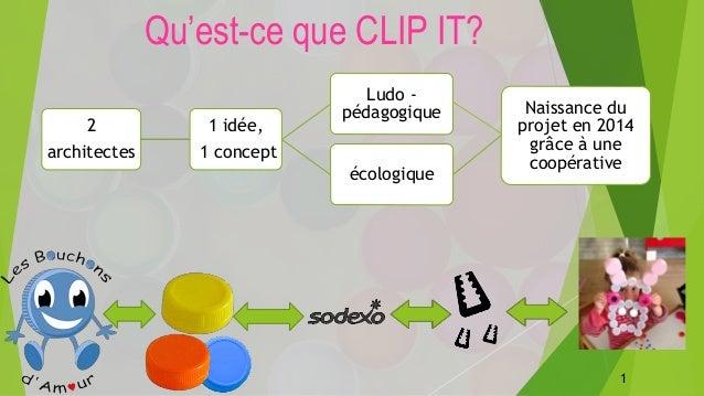 2 architectes 1 idée, 1 concept Ludo - pédagogique écologique Naissance du projet en 2014 grâce à une coopérative Qu'est-c...