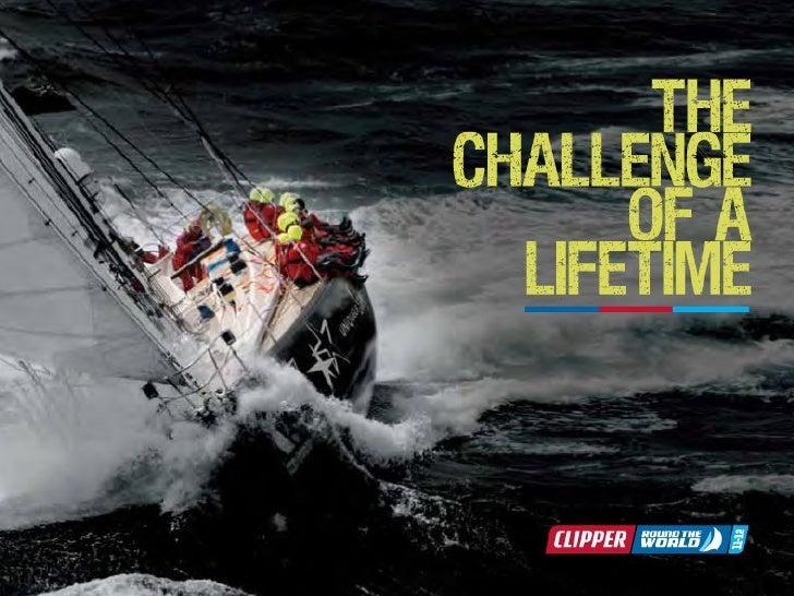 Partez autour du monde avec Pierig Bertho                en participant à la Clipper Race  www.clipperroundtheworld.com   ...