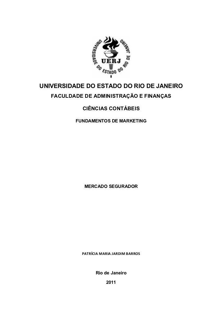 UNIVERSIDADE DO ESTADO DO RIO DE JANEIRO   FACULDADE DE ADMINISTRAÇÃO E FINANÇAS            CIÊNCIAS CONTÁBEIS          FU...