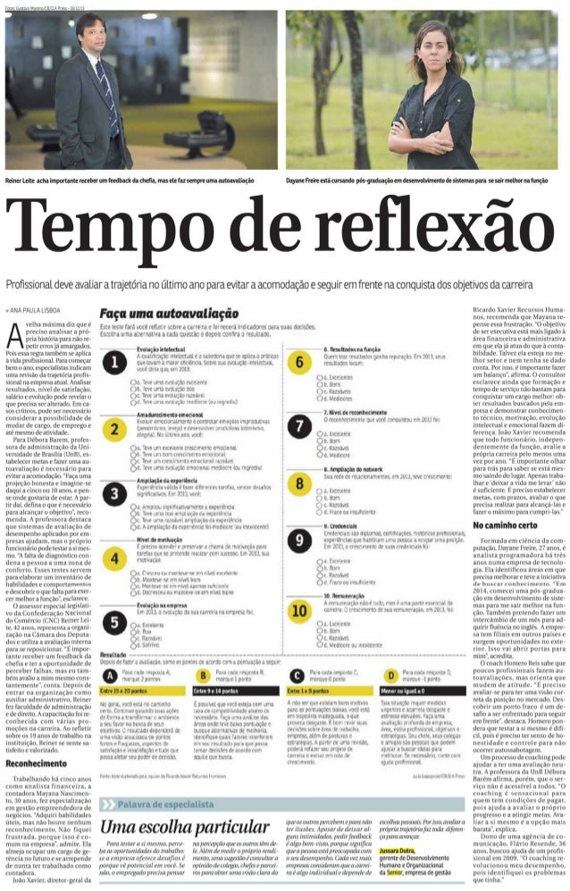 Correio Braziliense | Tempo de reflexão