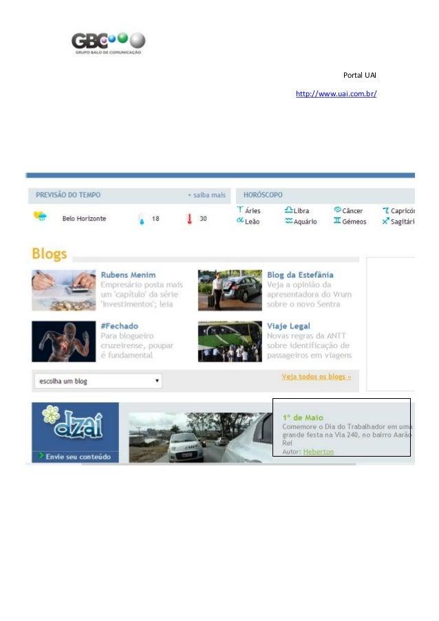 Portal UAI http://www.uai.com.br/