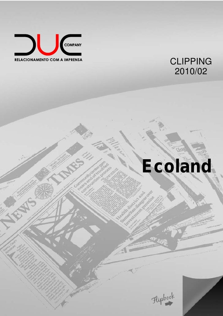 CLIPPING   2010/02Ecoland