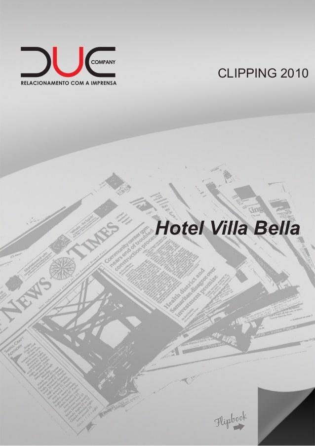 CLIPPING 2010 Hotel Villa Bella