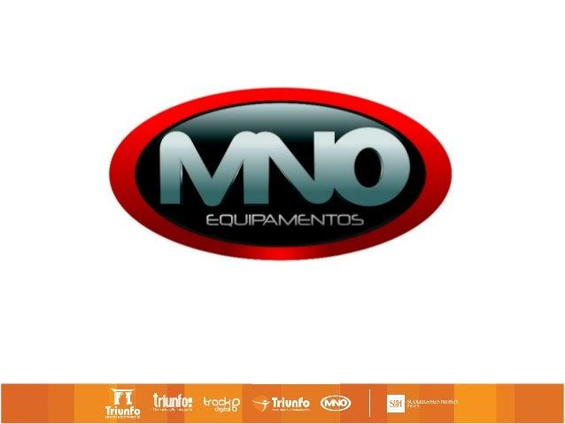 Anúncio de lançamento do novoempreendimento do Grupo Triunfo. A   empresa MNO Equipamentos.