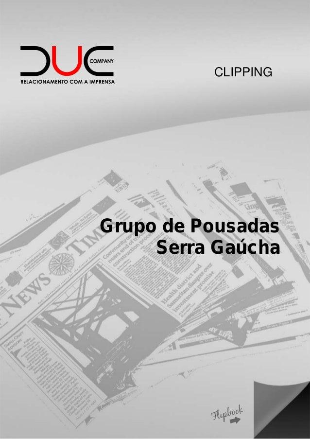 CLIPPING Grupo de Pousadas Serra Gaúcha
