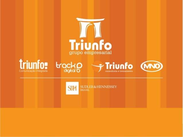 """O Grupo Empresarial Triunfo escolheu o posicionamento """"ALIADO DE REFERÊNCIA"""" para poder exercer junto aosseus clientes a s..."""