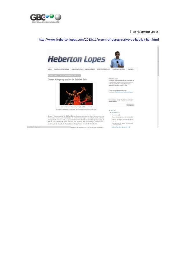 Blog Heberton Lopes http://www.hebertonlopes.com/2013/11/o-som-afroprogressivo-de-babilak-bah.html