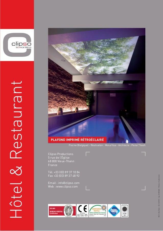 morosini mur tendu clipso hotel restaurant. Black Bedroom Furniture Sets. Home Design Ideas
