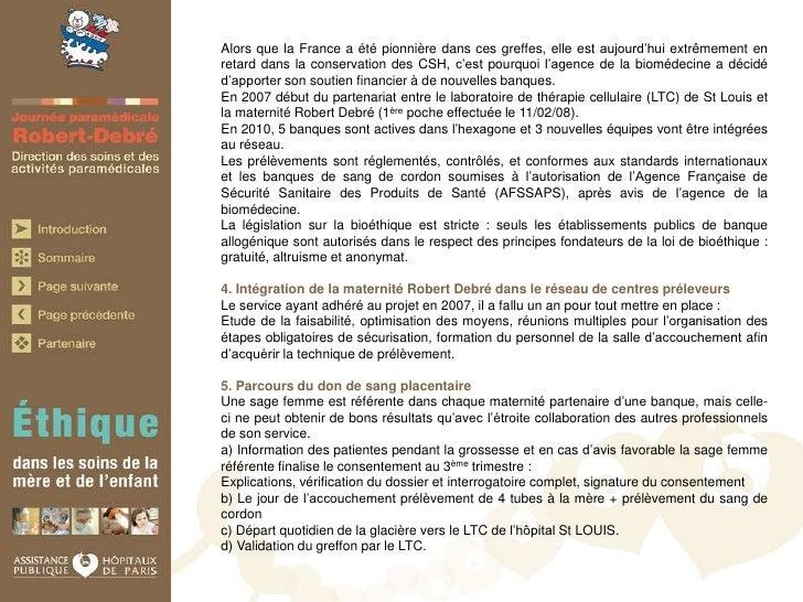Journ U00e9e  U0026quot Ethique U0026quot  Robert Debr U00e9 Hospital  2010  Paris  France