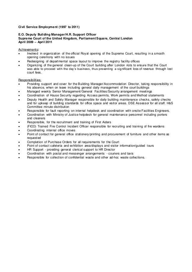 Clive duffield (f)   cv (sept - 2015) Slide 2