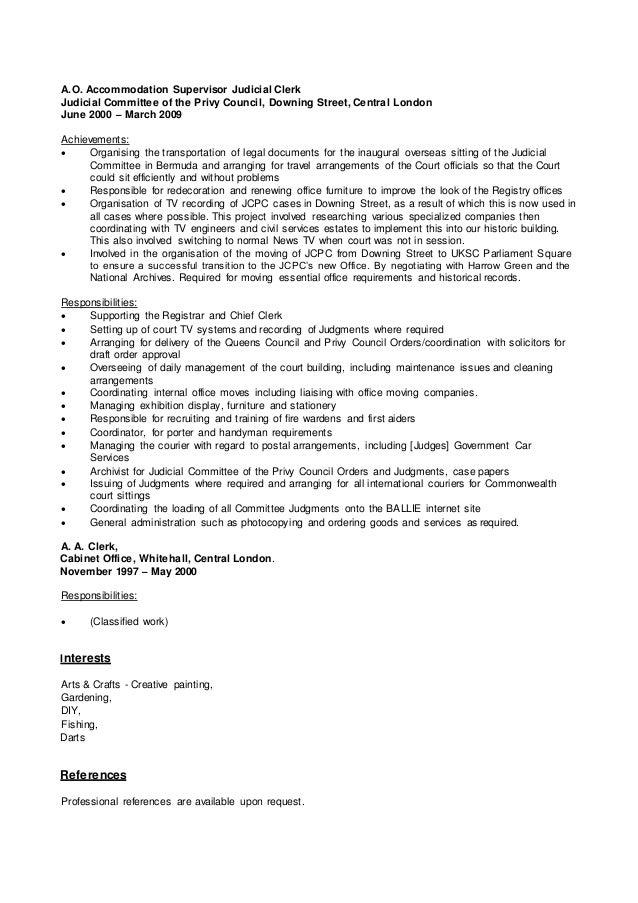 Clive duffield (f)   cv (sept - 2015) Slide 3