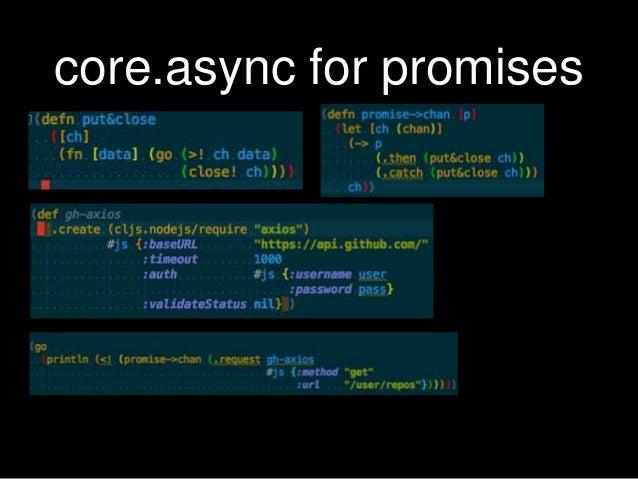 CLI utility in ClojureScript running on Node js