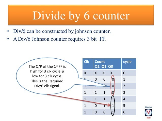divide by 3 counter