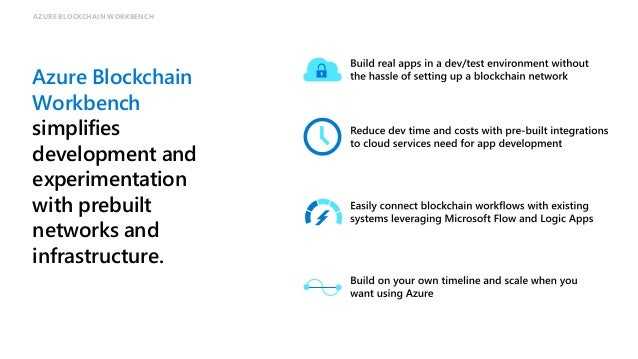 Join customers and partners building blockchain apps on Azure Partners Customers