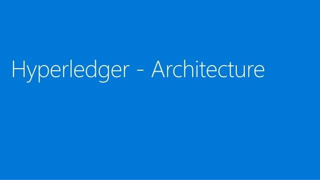 Hyperledger Fabric - Architecture HYPERLEDGER FABRIC BY HYPERLEDGER FOUNDATION