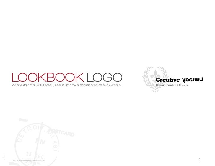 LOOKBOOK LOGO          We have done over 53,000 logos ... inside is just a few samples from the last couple of years.     ...