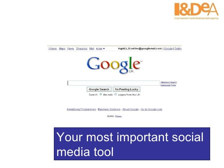 Your most important social media tool