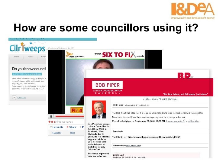 How are some councillors using it?