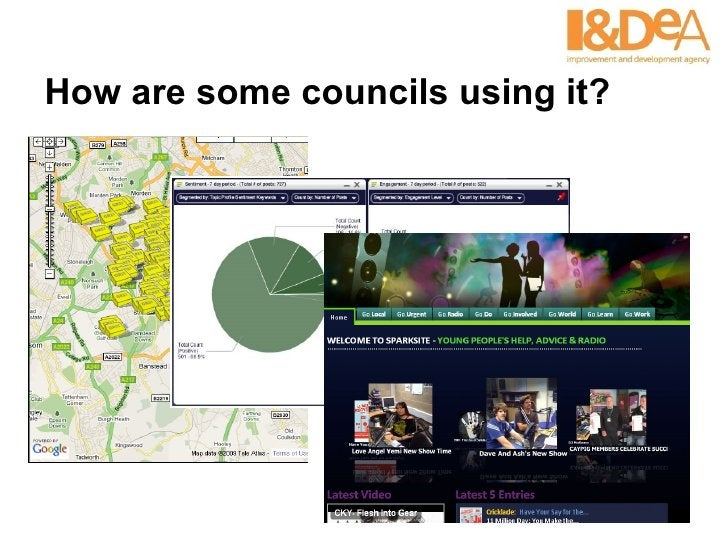 How are some councils using it?