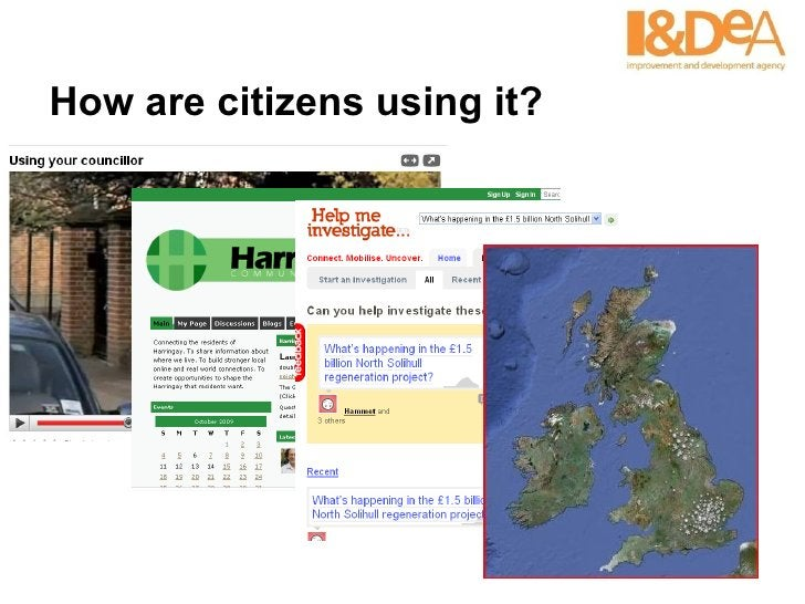 How are citizens using it?