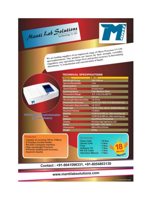 Manti Lab Solutions, Panchkula, Digital PH Meters And TDS Meters