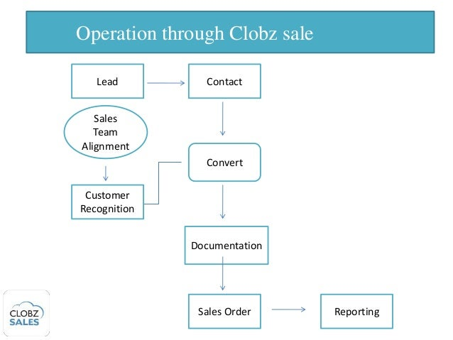 Sales Force Automation Using CLoud