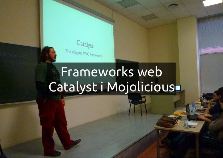 Frameworks webCatalyst i Mojolicious