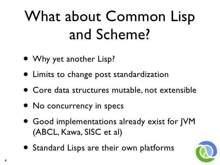 Writing a compiler in common lisp vs clojure