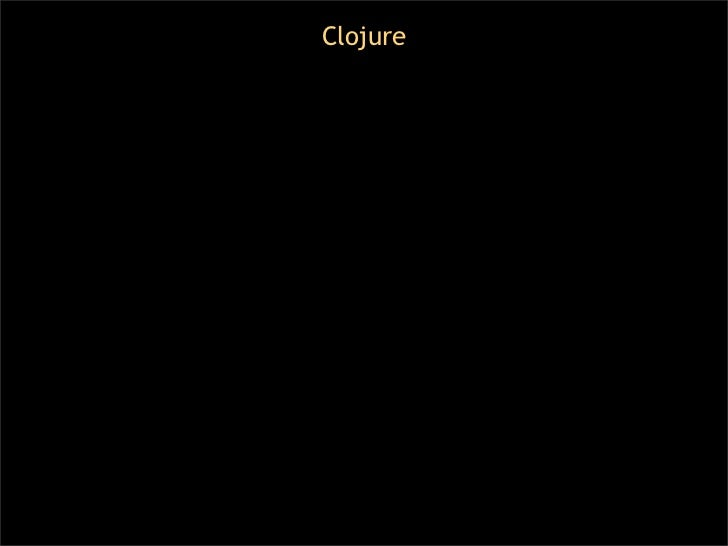 Lisp Macros in 20 Minutes (Featuring Clojure) Slide 2
