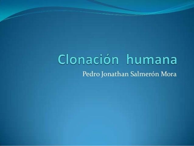 Pedro Jonathan Salmerón Mora